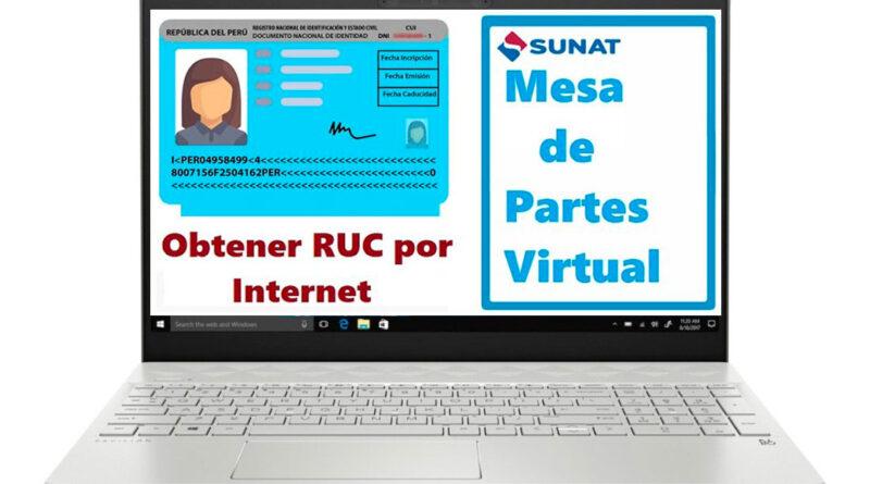 Cómo sacar RUC Persona Natural por Internet