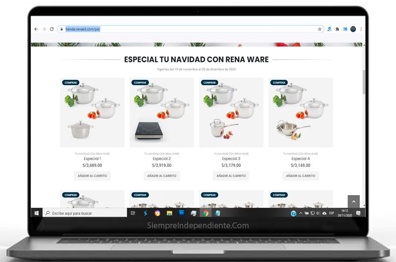 Comprar juego jumbo Rena Ware online facil y rapido