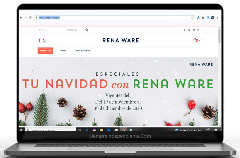 como comprar ollas rena ware online en tienda virtual