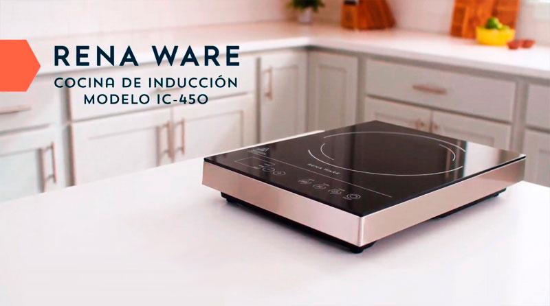 La cocina de inducción Rena Ware IC-450