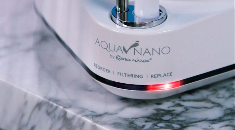 Cómo cambiar el repuesto del filtro de agua Rena Ware