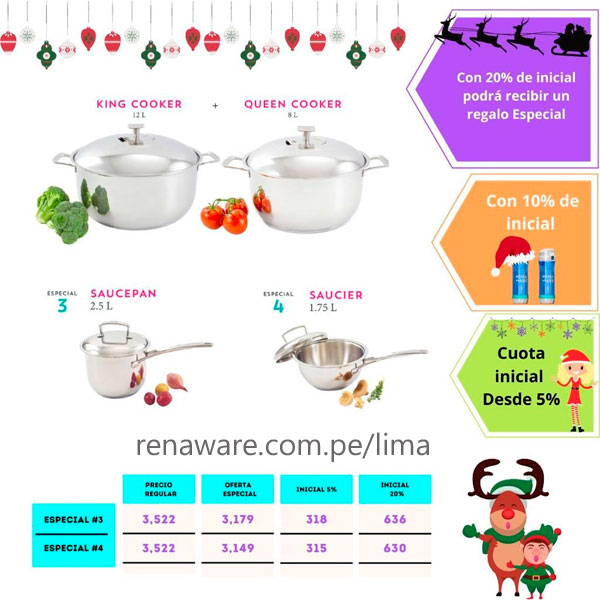 ollas Rena Ware en Perú Navidad 2020