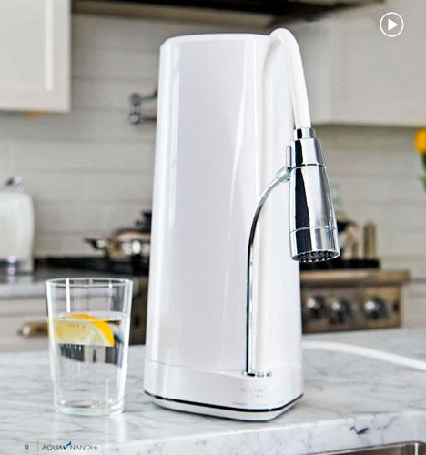 dispensador purificador de agua Rena Ware Aqua Nano